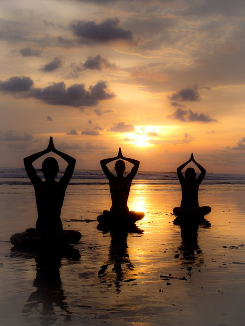 health retreat bali beach